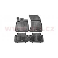 gumové koberečky černé (sada 4 ks) - [0391X10] - 331736