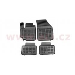 gumové koberečky černé (sada 4 ks) - [5208X10] - 331772
