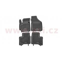 gumové koberečky černé (sada 4 ks) - [5226X10] - 331775