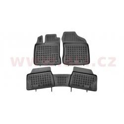 gumové koberečky černé (sada 3 ks) - [5632X10] - 331779