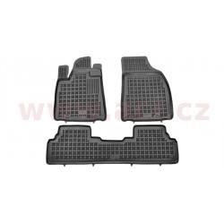 gumové koberečky černé strana Prava re  facelift/ pre  Hybrid (sada 3 ks) - [5642X11] - 331780