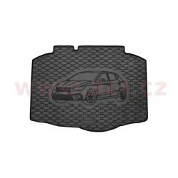 čierna gumová vložka do kufru s ilustrací vozu - [4929X01C] - 343070