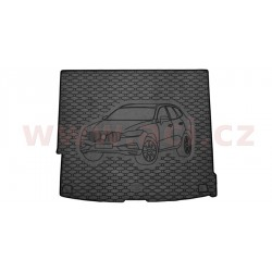 čierna gumová vložka do kufru s ilustrací vozu - [5926X01C] - 343072