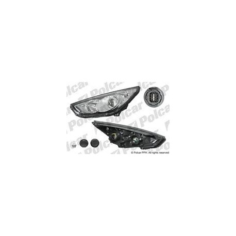 Hvný reflektor - [A-404809-E] - lavy