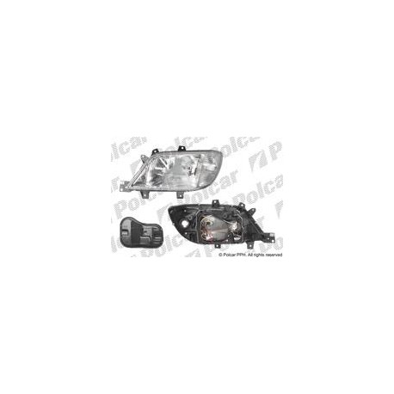 Hvný reflektor - [A-5063091E] - lavy