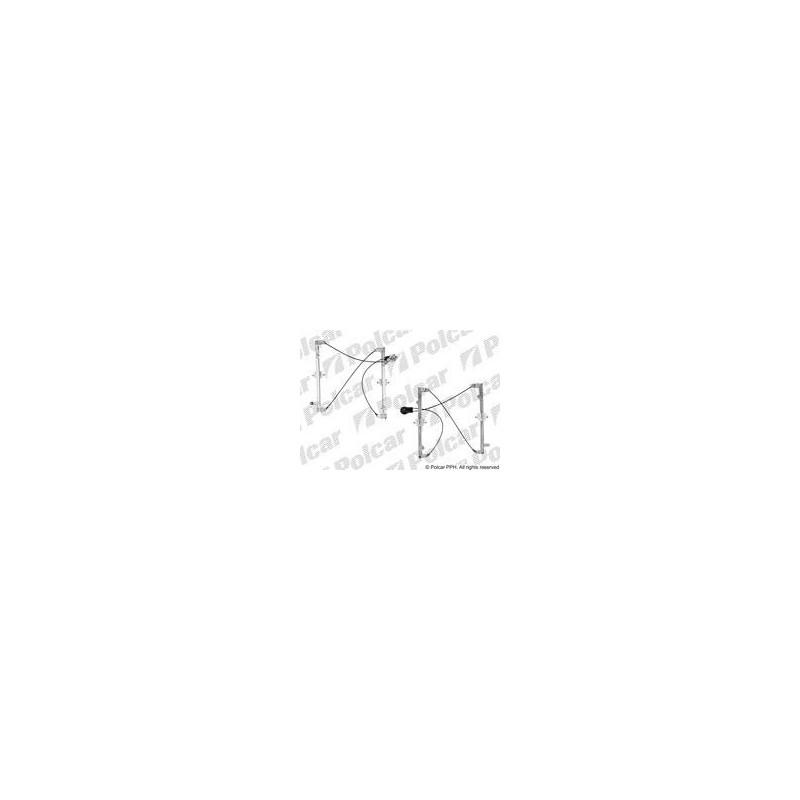 Muálny mechanizmus okna dverí - [A-2350PSM1] - predok