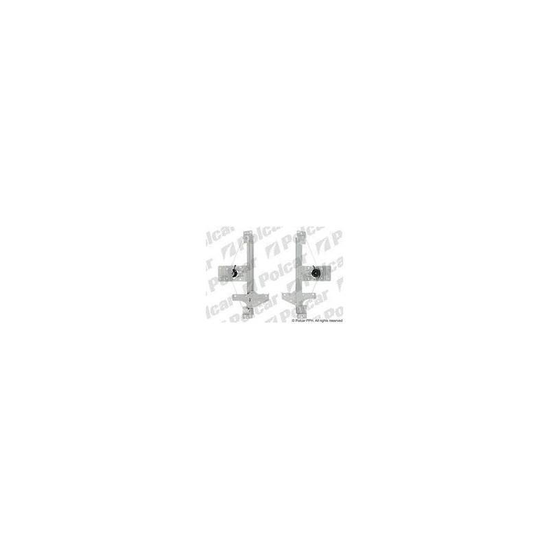 Mechanizmus stahovania okna el. bez motora - [A-5724PSG5] - zadok
