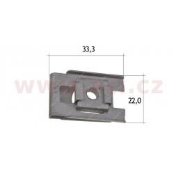 kovová príchytka (5 ks) - UP 70139Z