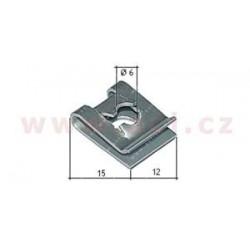 kovová príchytka (sada 10 ks) - UP 55132Z