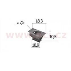kovová príchytka (sada 10 ks) - UP 15584Z