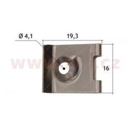 kovová príchytka (sada 10 ks) - UP 57222T