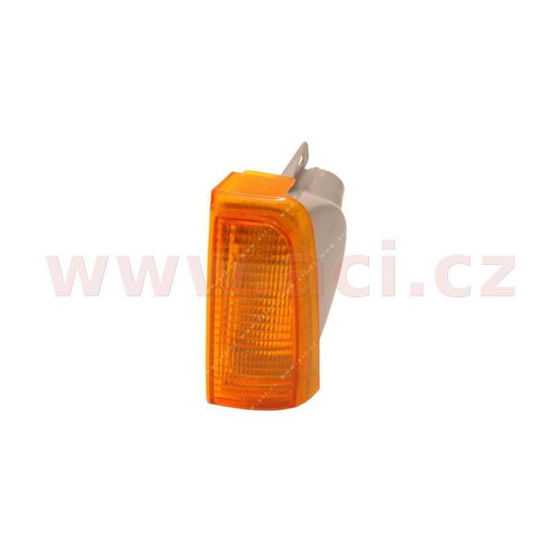 9/84- predna  smerovka  oranžova (bez obj.) strana Lava  - [3760907] - 598