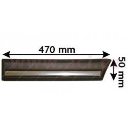 bočna  Lišta  zadneho  blatníku s chromovým pruhem (3dv.) strana Lava  - [1837429] - 32926