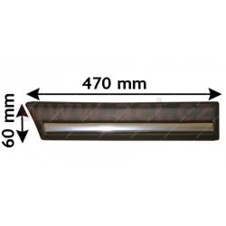 bočna  Lišta  zadneho  blatníku s chromovým pruhem (3dv. strana Prava   - [1837430] - 32927