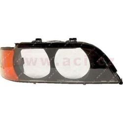 -00 sklo strana Prava redneho svetla H7+HB3 s oranžovým blikačem a rozptylovými skly P - [0639978A] - 187027