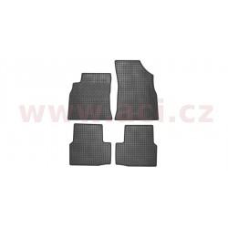 gumové koberečky černé (sada 4 ks). - [3810X12] - 193878