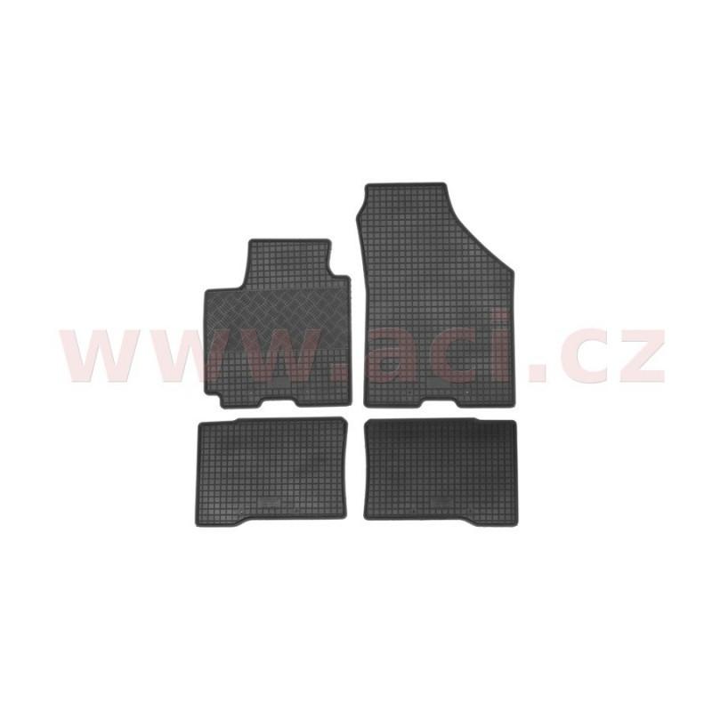 gumové koberečky černé. - [5226X12] - 305801