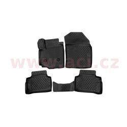 3D gumové koberečky černé (sada 4 ks). - [5251X103D] - 307040