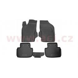 3D gumové koberečky černé (sada 4 ks) - [0147X103D] - 323519