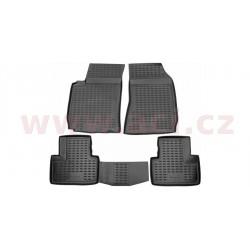 3D gumové koberečky černé (sada 4 ks) - [0160X103D] - 323520