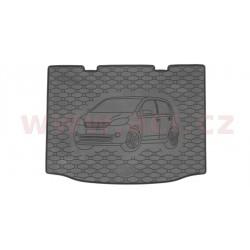 čierna gumová vložka do kufru s ilustrací vozu - [7608X01C] - 327890